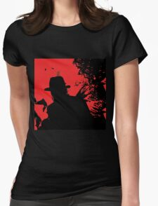 Icons of Horror - Freddy Womens Fitted T-Shirt