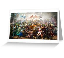 League of Legends Collaboration Greeting Card