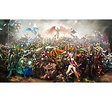 League of Legends Collaboration Photographic Print