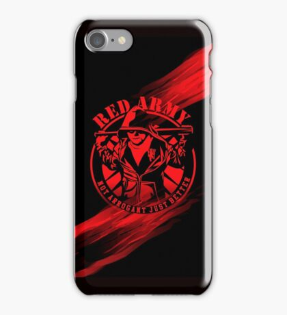 RED ARMY iPhone Case/Skin