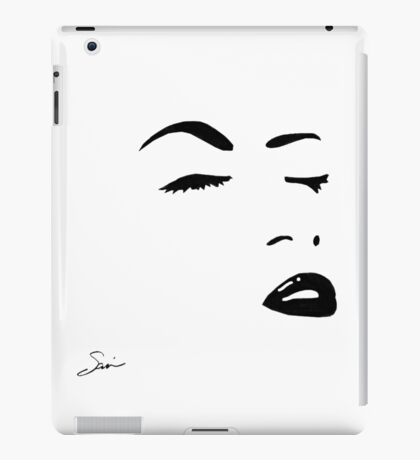 A Woman's Touch iPad Case/Skin