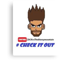 #check it out t shirt Canvas Print