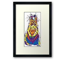 Surly the Prairie Dog Framed Print