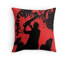 Icons of Horror - Leatherface Throw Pillow