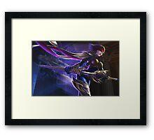 Fiora Fan Splash Art Framed Print