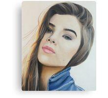 hailee colored pencil Canvas Print