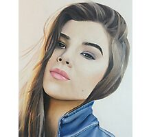 hailee colored pencil Photographic Print