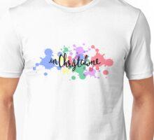 In Christ Alone, Paint Splatter Unisex T-Shirt