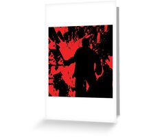 Icons of Horror - Jason Greeting Card
