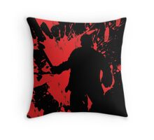 Icons of Horror - Jason Throw Pillow