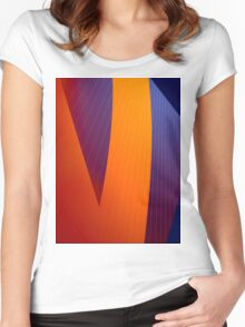 Abstraction 3 Women's Fitted Scoop T-Shirt