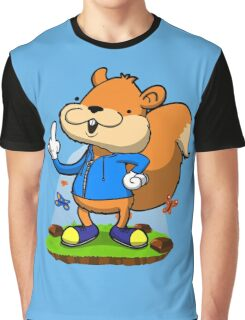 A very bad fur day. Graphic T-Shirt