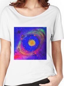 Neon Nebulous Glow Women's Relaxed Fit T-Shirt