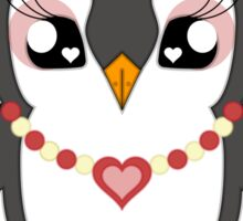 Love Bitesguin Sticker