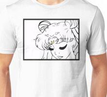 Princess Serenity Black and White Unisex T-Shirt