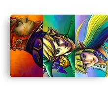 Zelda Triforce Canvas Print