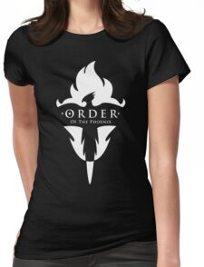 ORDER Of The Phoenix White Womens Fitted T-Shirt