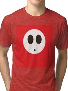 Shy Guy (Red) Tri-blend T-Shirt