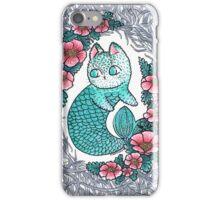 Mermaid kitty  iPhone Case/Skin
