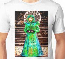 'Peackock, Maybe?' - Carnival Masquerade Costume Unisex T-Shirt