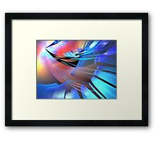 Prism Wings Framed Print