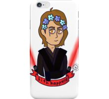 Anakin Skywalker Sith Happens iPhone Case/Skin