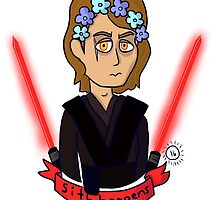 Anakin Skywalker Sith Happens by robotwizards