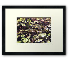 take all my love for i am yours  Framed Print