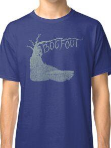 Bogfoot Swamp Thing Woodcut Classic T-Shirt