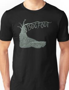Bogfoot Swamp Thing Woodcut T-Shirt