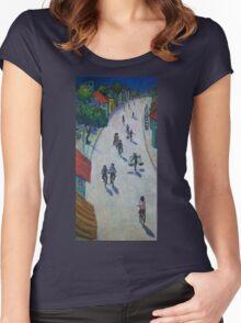 'Opal Road, Vietnam' Women's Fitted Scoop T-Shirt