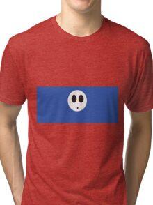 Shy Guy (Blue) Tri-blend T-Shirt
