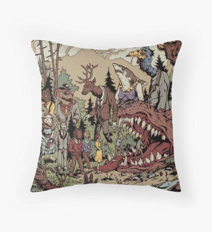 A Lot Like Birds - Conversation Piece - Pillow Throw Pillow