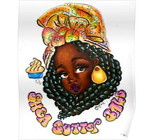 Shea Butter Babe  Poster