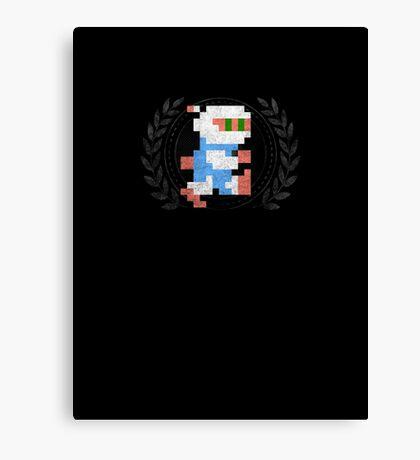 Bomberman - Sprite Badge Canvas Print