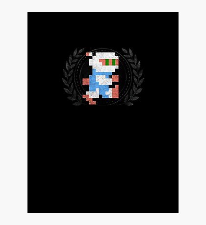 Bomberman - Sprite Badge Photographic Print