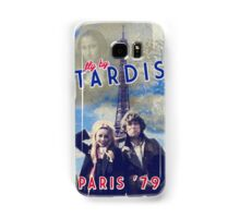 Fly by TARDIS - Paris '79 Samsung Galaxy Case/Skin
