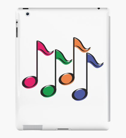 Musical notes iPad Case/Skin