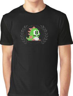Bubble Bobble - Sprite Badge Graphic T-Shirt