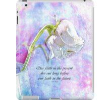 Faith-inspiration iPad Case/Skin