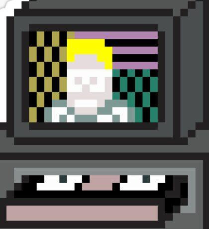 Retro VCR (Max Headroom) Sticker