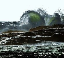 Rocky Coast by Stephen Burke