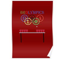 Brolympic Games Poster