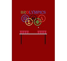 Brolympic Games Photographic Print