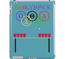 Brolympic Games iPad Case/Skin