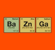 Ba Zn Ga! - periodic elements scramble by dennis william gaylor