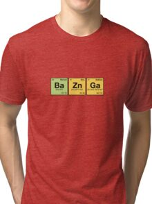 Ba Zn Ga! - periodic elements scramble Tri-blend T-Shirt