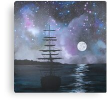 Neverland at Night 2 Canvas Print