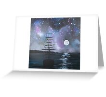 Neverland at Night 2 Greeting Card