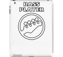 Guitar - Bass Player iPad Case/Skin